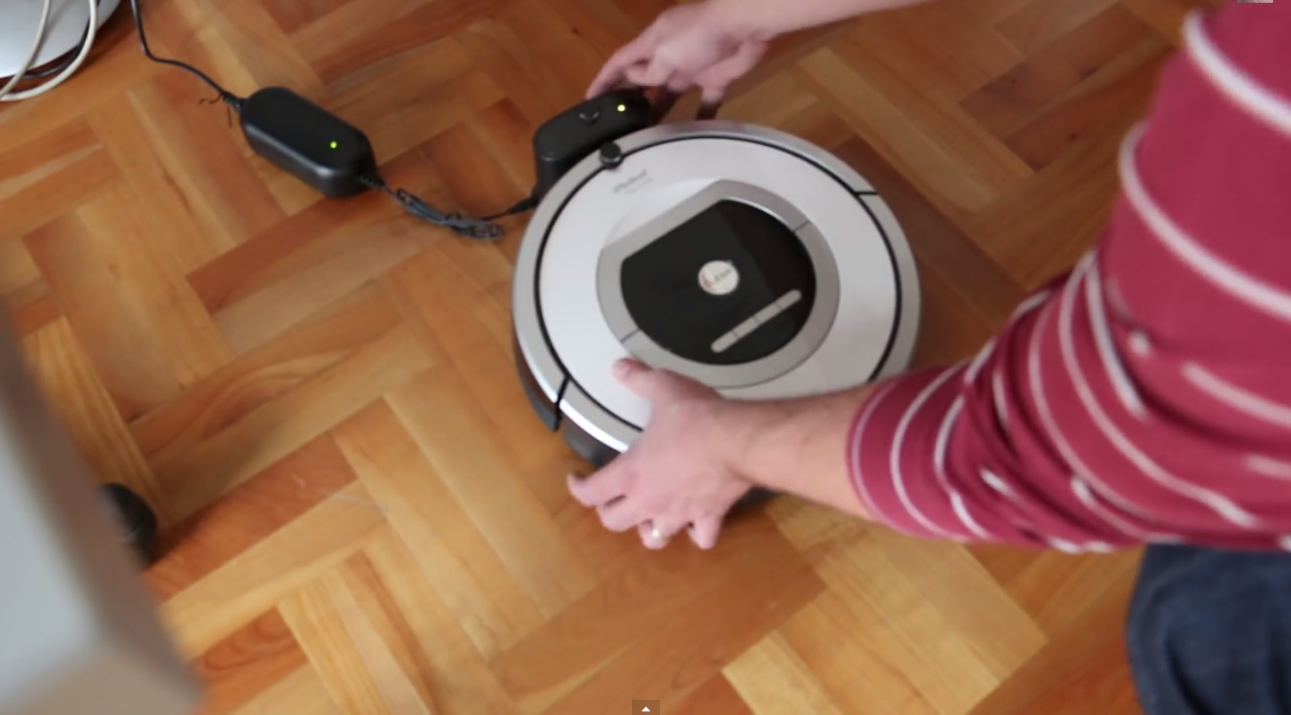 roomba irobot 765 test