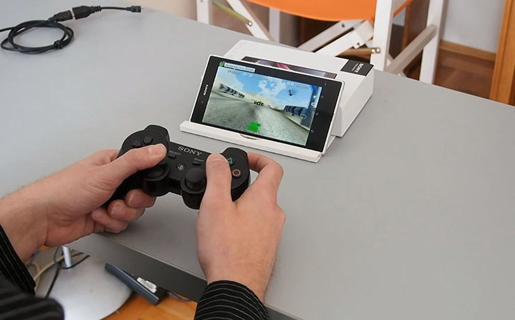 xperia gaming with dualshock 3
