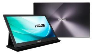 ASUS MB169C+ 15.6 Full HD 1920x1080 IPS USB Type-C Powered Eye Care Portable Monitor