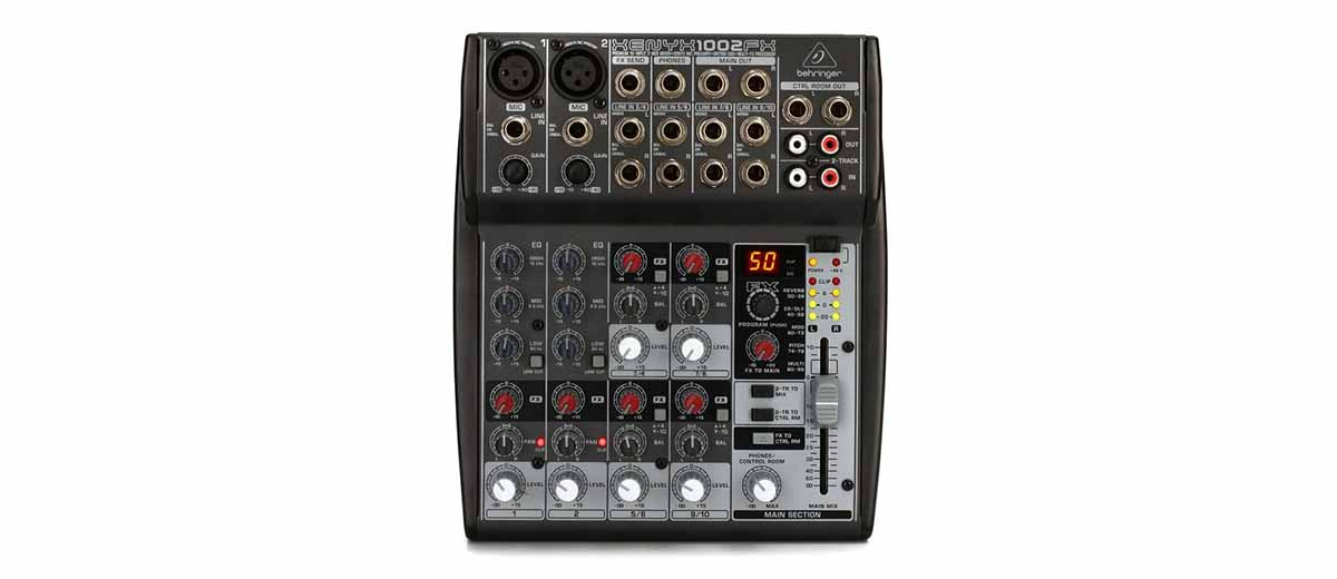 Behringer Xenyx 1002FX PDF Manual download