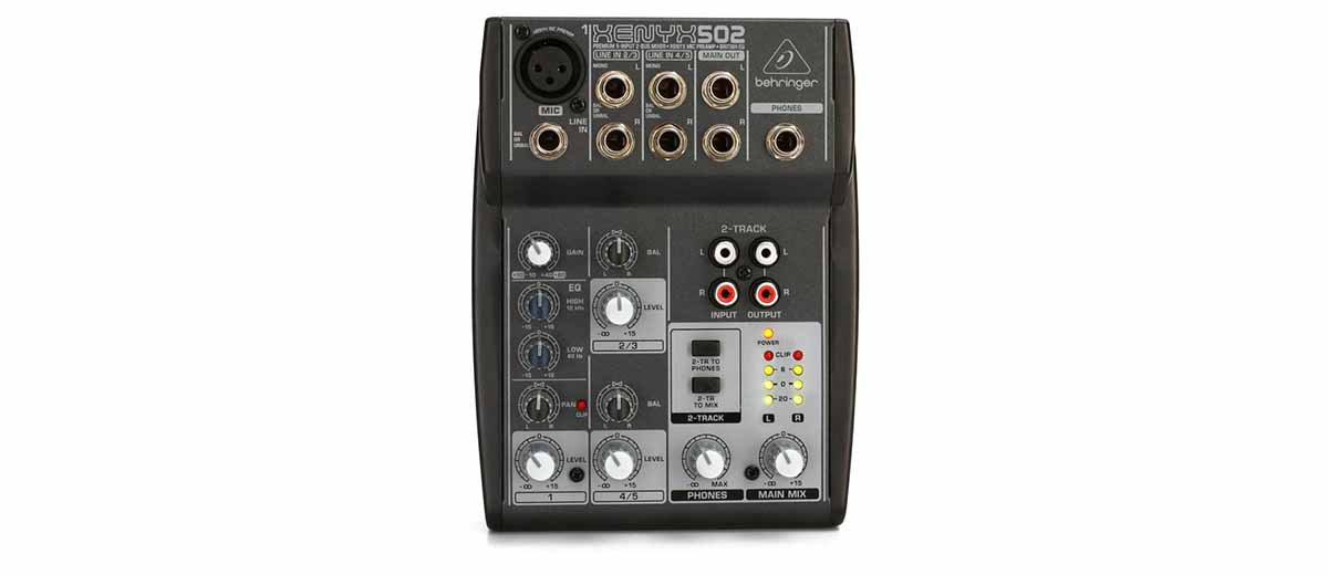 Behringer Xenyx 502 manual