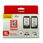 Canon Pixma MG2500 Ink Cartridge CL 246 and PG 245