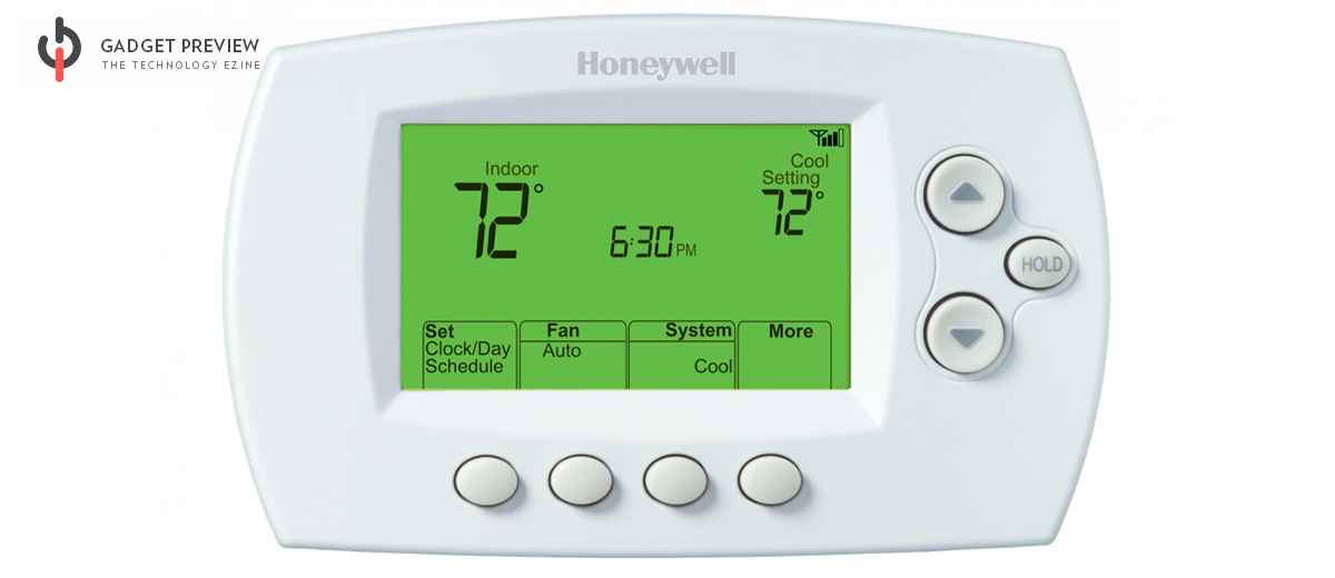 Honeywell RTH6580WF PDF manual