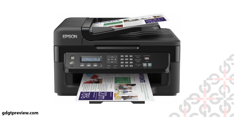 Epson Workforce 2530 ink cartridges