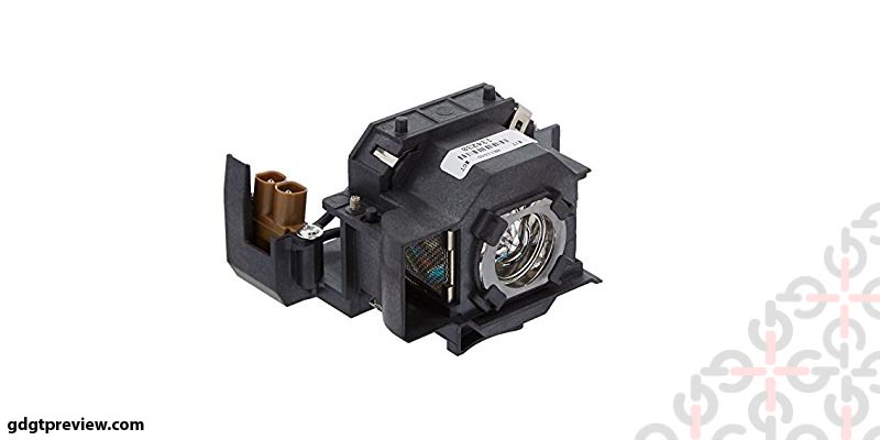 Electrified ELPLP34 V13H010L34 Replacement Lamp with Housing for Epson Projectors