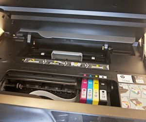 cleaning hp printheads manually