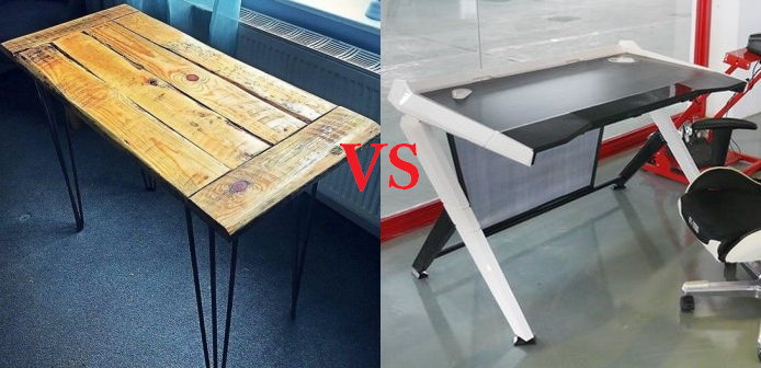 Regular vs Gaming Desk