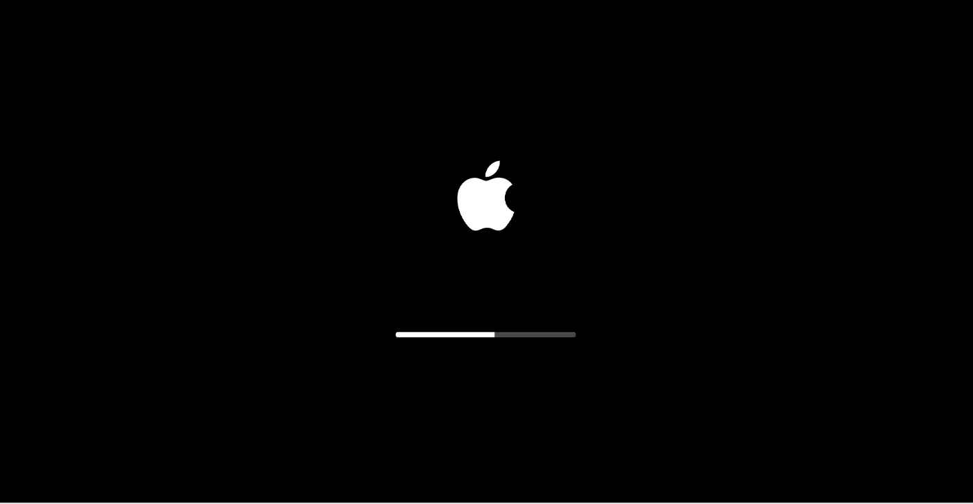 Apple Booting Loading